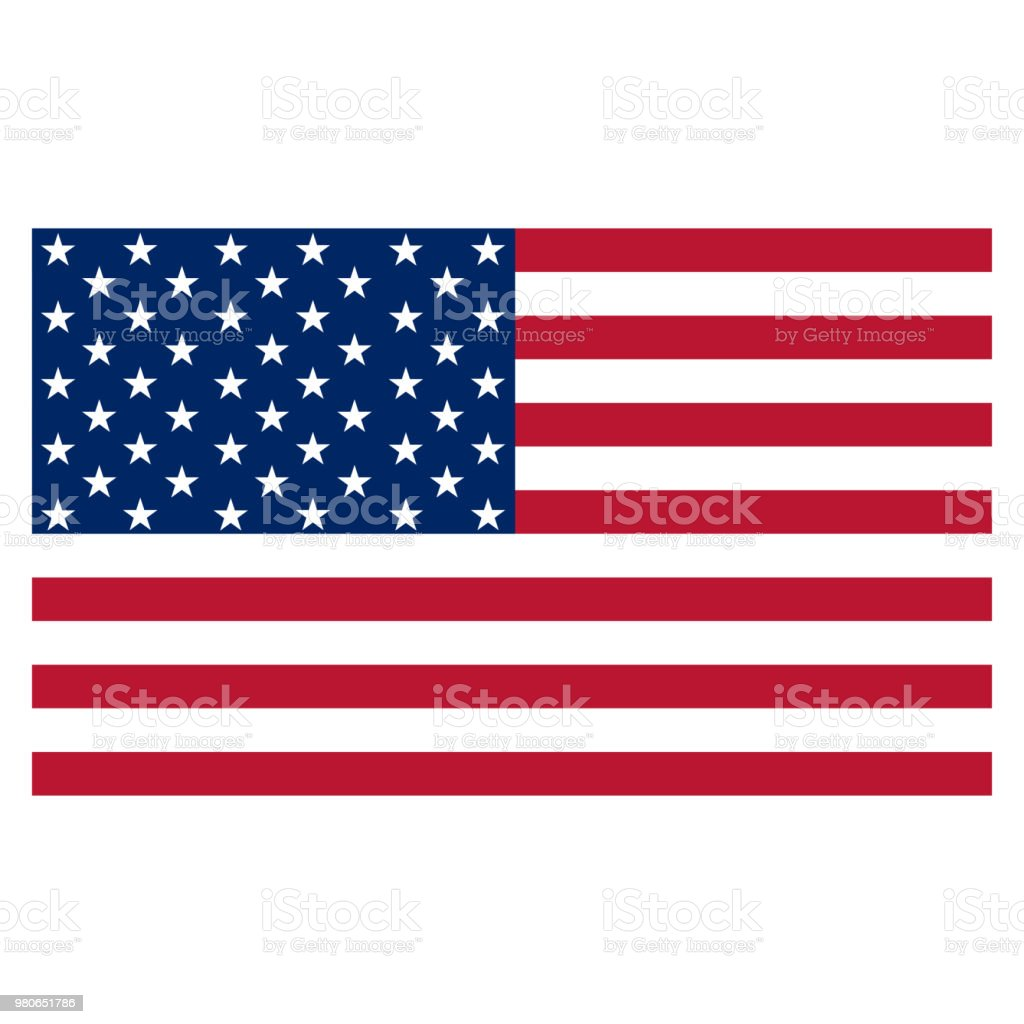 usa flag vector icon stock vector art more images of american flag rh istockphoto com us flag vector art us flag vector art free