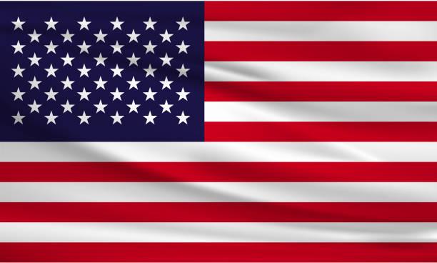 usa flag - us flag stock illustrations
