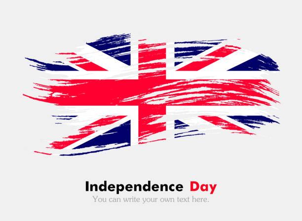 uk flag - uk flag stock illustrations, clip art, cartoons, & icons