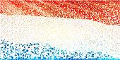 Confetti/ Flag of Netherlands