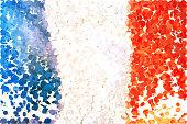 Confetti: French flag.