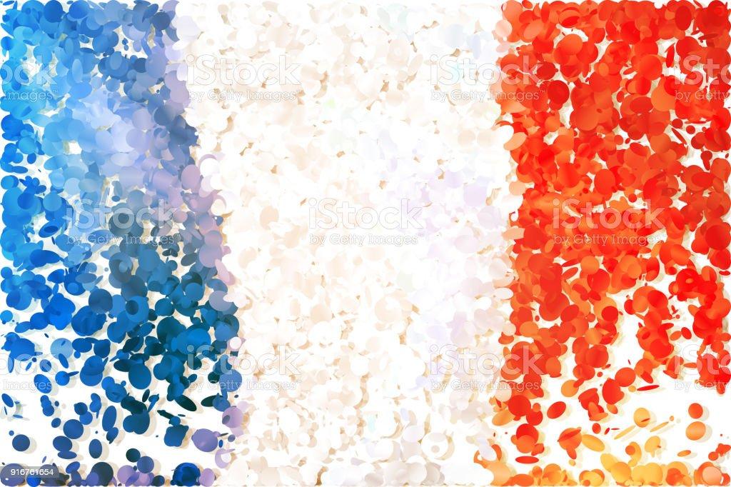 Bandera - ilustración de arte vectorial