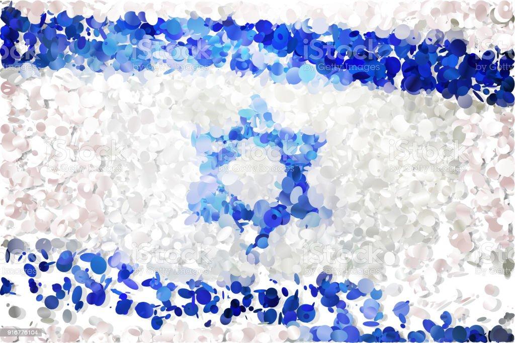 Flag vector art illustration