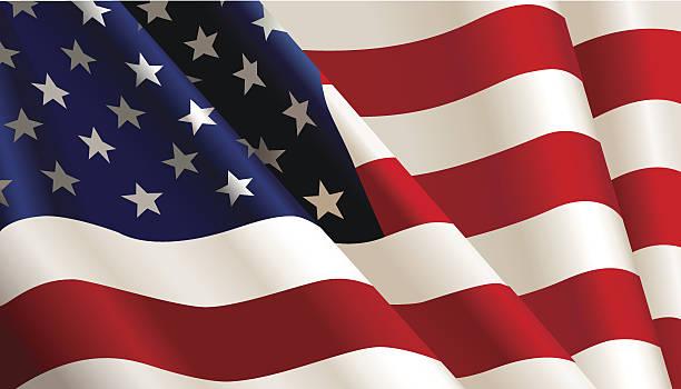usa flag. - usa flag stock illustrations, clip art, cartoons, & icons