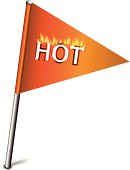 Flag With Hot.