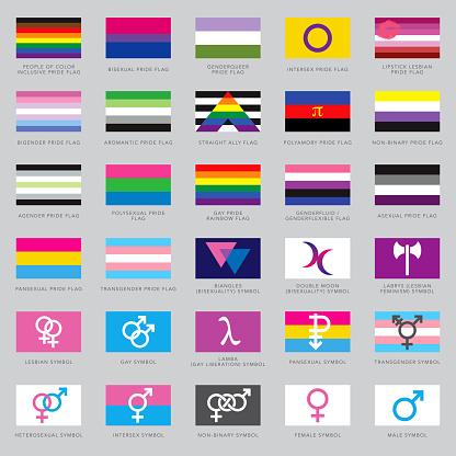 LGBTQ+ Flags and Symbols