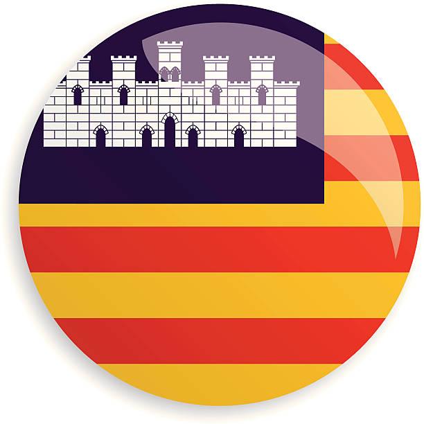ilustrações de stock, clip art, desenhos animados e ícones de bandeiras baleary - ibiza