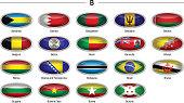 "Flags icon - ""B"""