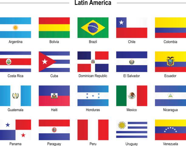 フラッグ-中南米 - ペルーの国旗点のイラスト素材/クリップアート素材/マンガ素材/アイコン素材