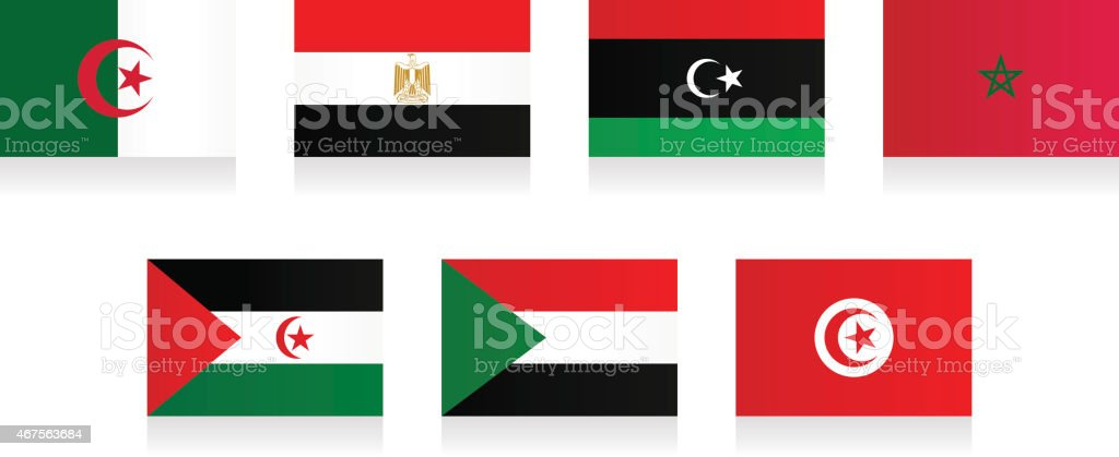 Flags - North Africa