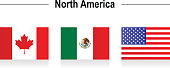 Flags - North America