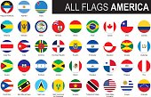 flags of America