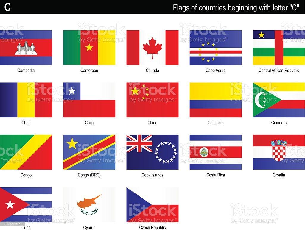 Banderas de países de