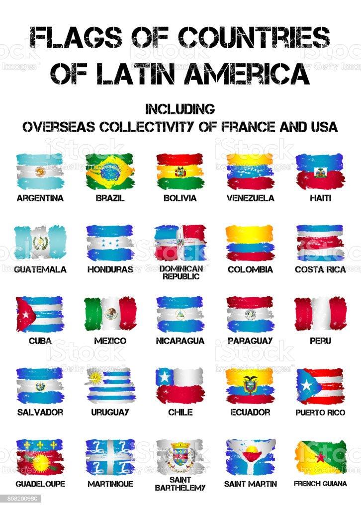 Banderas Paises De America Latina Fondo De Pantalla Rosa