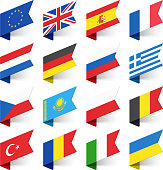 Flags of the World, Europe.