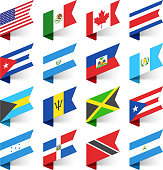 Flags of the World, North America.