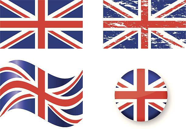 旗を取り入れ kingdom - イギリスの国旗点のイラスト素材/クリップアート素材/マンガ素材/アイコン素材