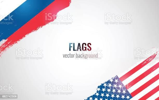 Flags of usa and russian federation isolated on white background vector id682742506?b=1&k=6&m=682742506&s=612x612&h=ptewtnxg3x3727penarcyzpfuujjl7emwyjyqratkzi=