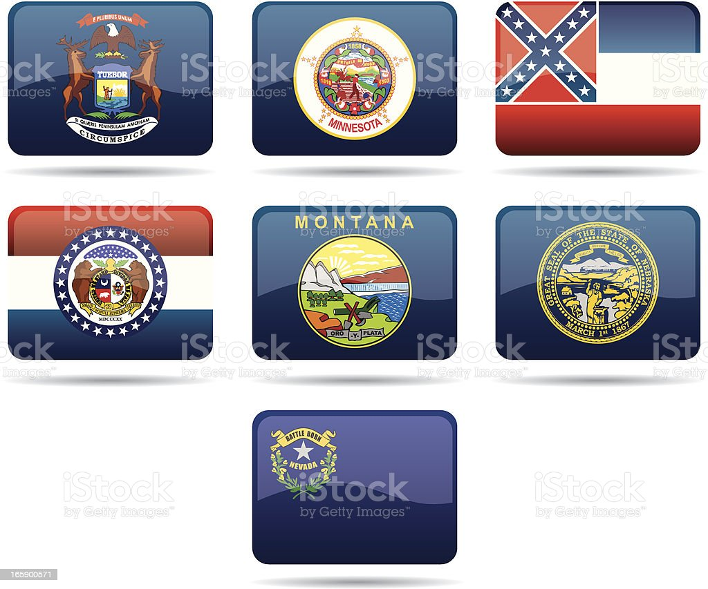 USA Flags royalty-free usa flags stock vector art & more images of badge