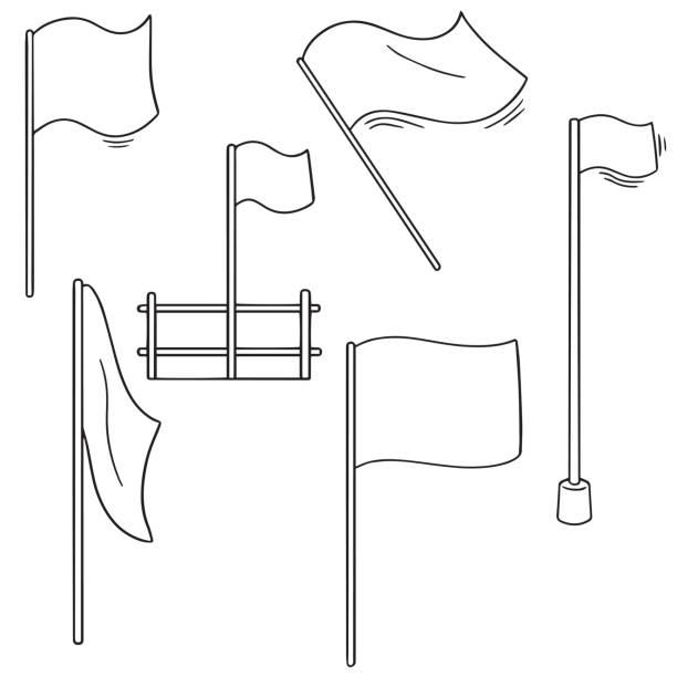 flags – artystyczna grafika wektorowa