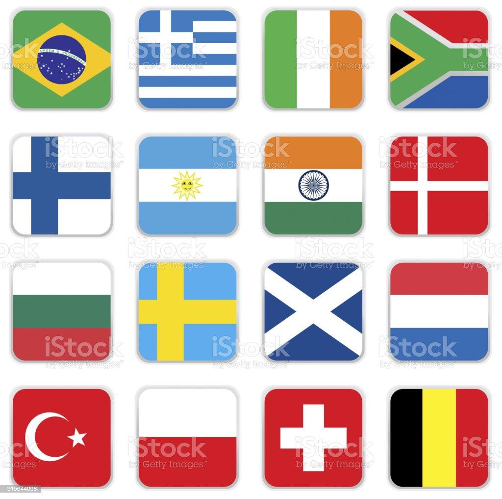 Flags  – Vektorgrafik