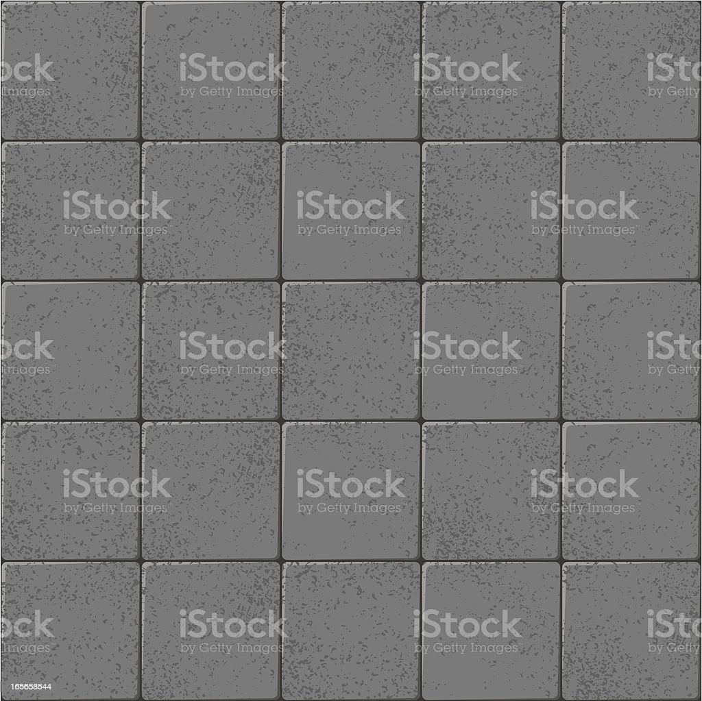 Flagstones royalty-free stock vector art