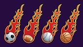 flame balls