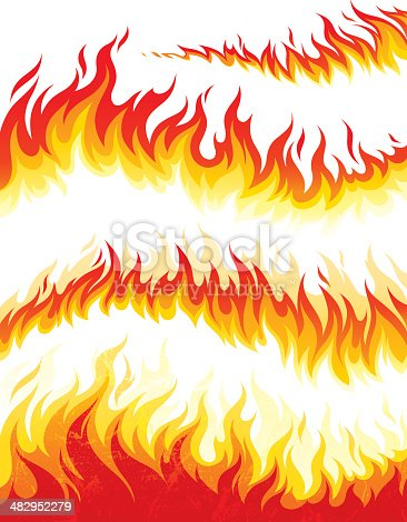 istock Flame collection 482952279