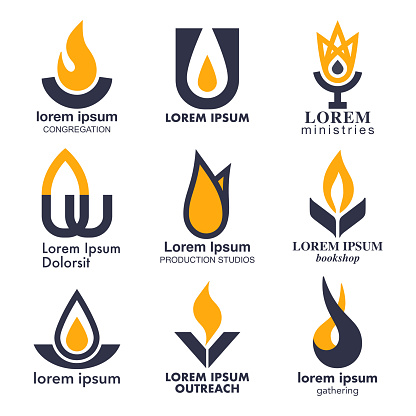 Flame, Fire and Torch Icon Set