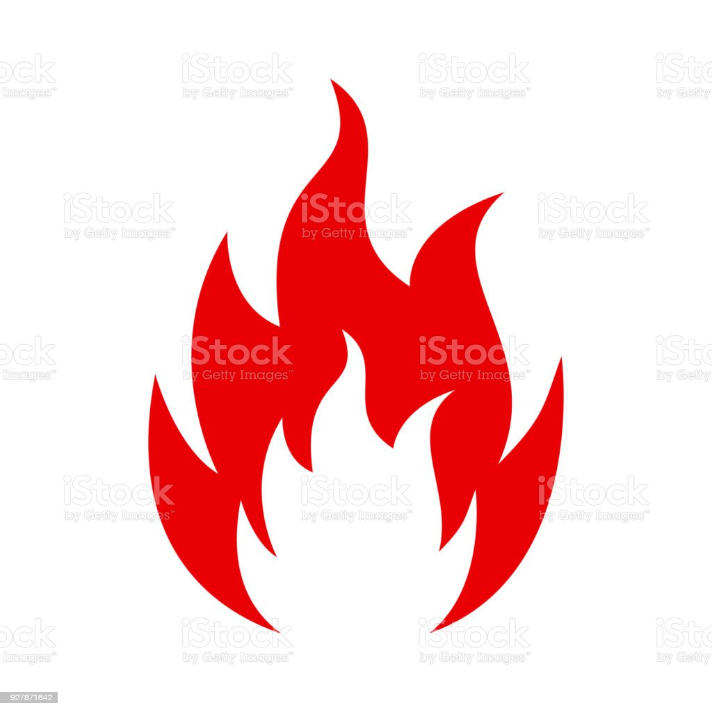 royalty free tongues of fire clip art vector images