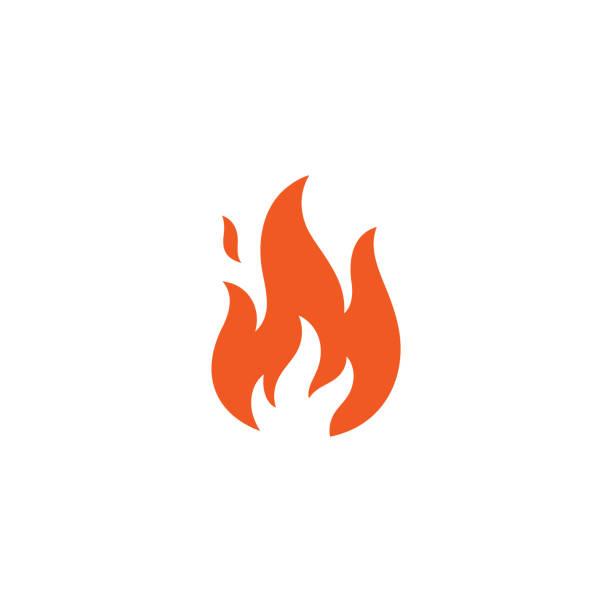 Flamme-Symbol – Vektorgrafik