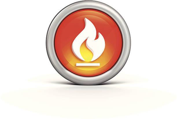 Flammen-Symbol – Vektorgrafik