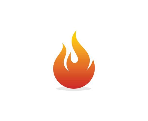 flammen-symbol - feuer stock-grafiken, -clipart, -cartoons und -symbole