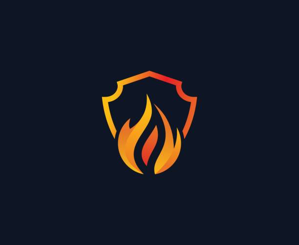 Best Flame Logo Illustrations, Royalty-Free Vector Graphics