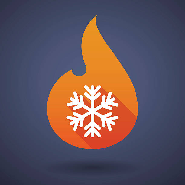 Royalty Free Fire And Ice Clip Art, Vector Images ...