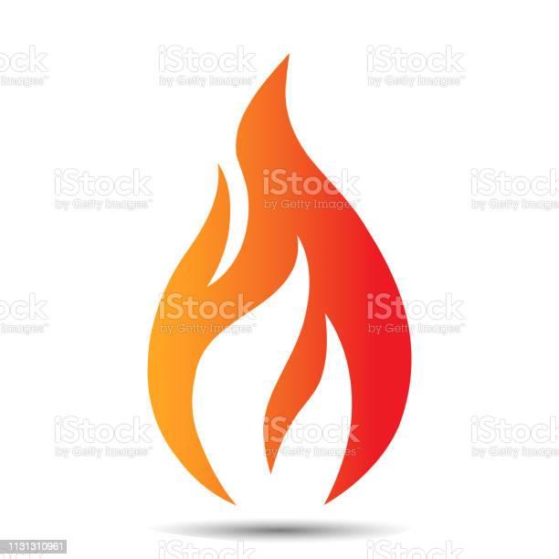 Icône De Conception De Logo De Flamme Modèle De Concept De Feu Créatif Pour Lentreprise Pétrolière Et Gazière Web Ou Application Mobile Illustration Vectorielle Vecteurs libres de droits et plus d'images vectorielles de Abstrait