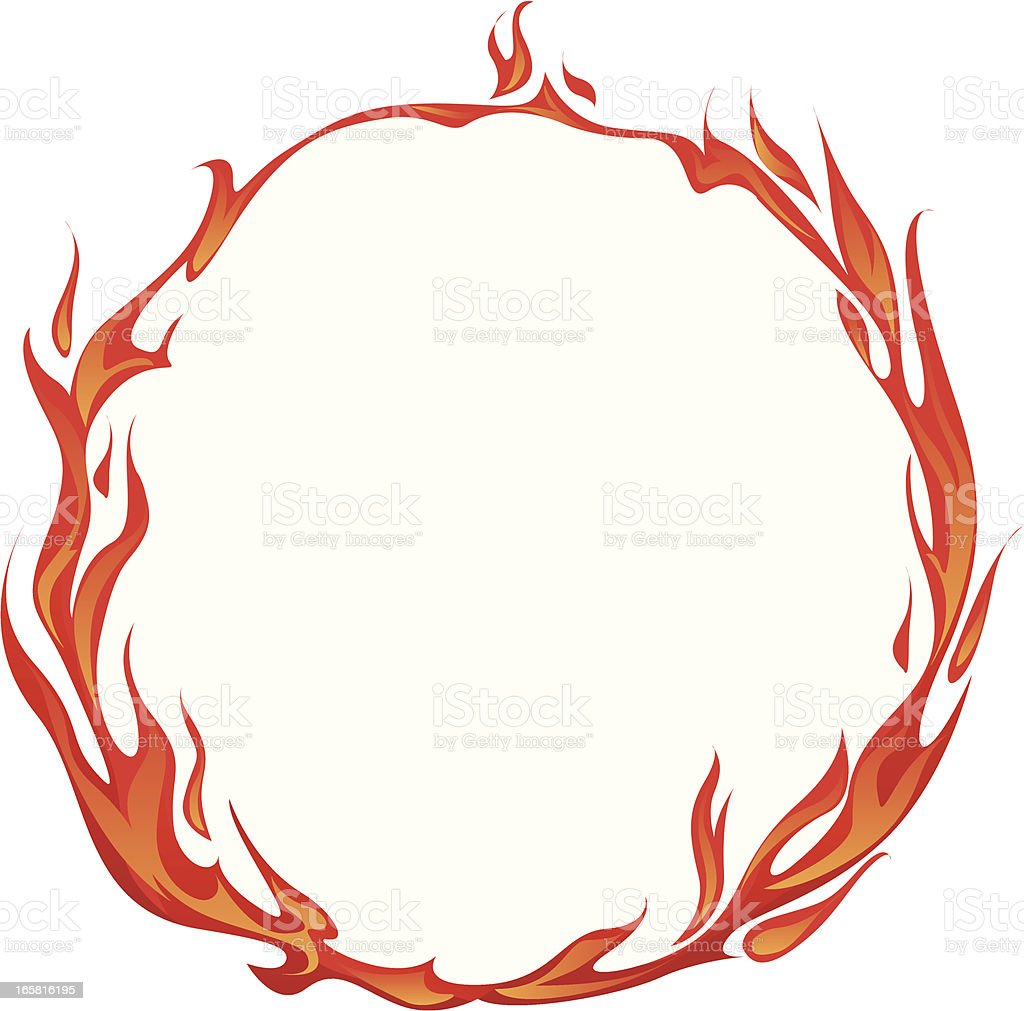 flame stock vector art more images of backgrounds 165816195 istock rh istockphoto com Class Ring Clip Art Ring of Fire Clip Art Black and White