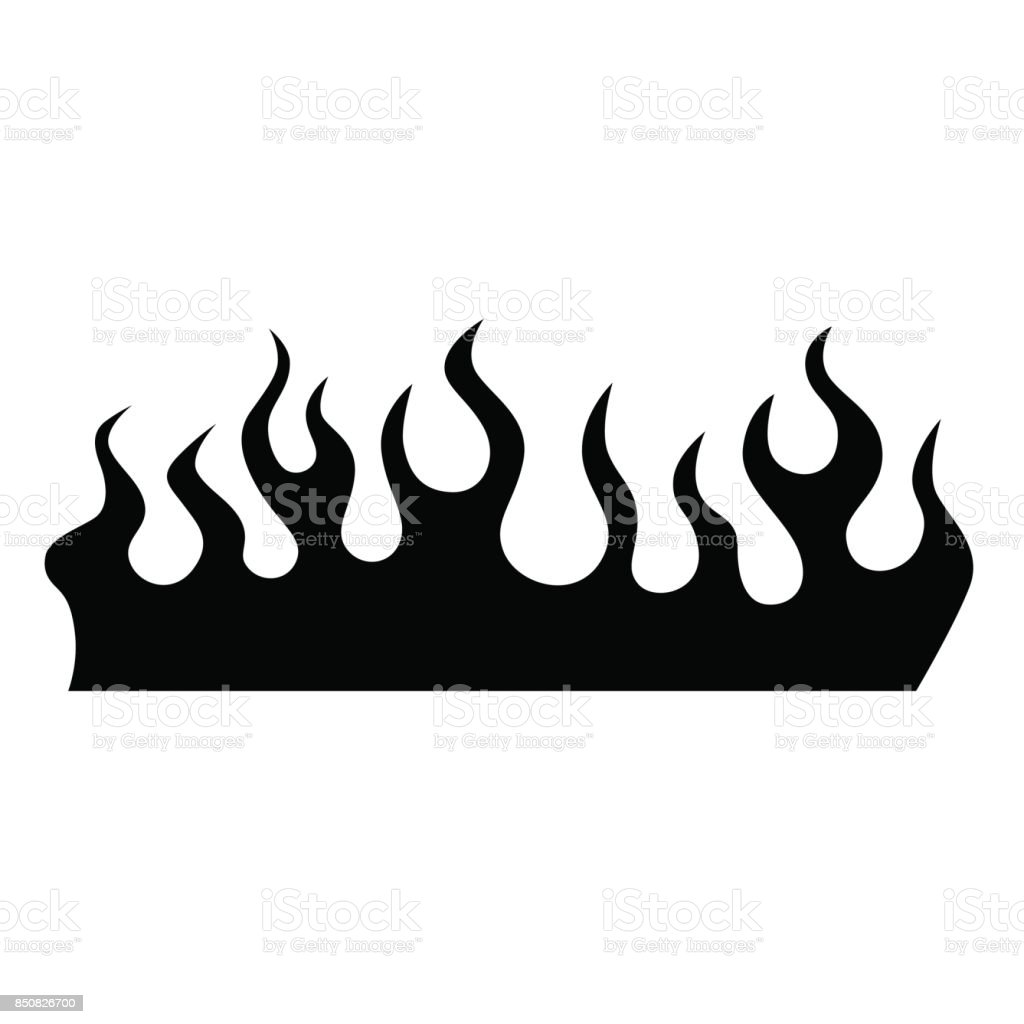 Flame Vector Tribal Stock Vector Art & More Images Of