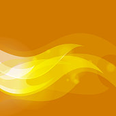 abstract hot flames with copy space