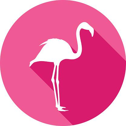 Flamingo Icon Silhouette 1