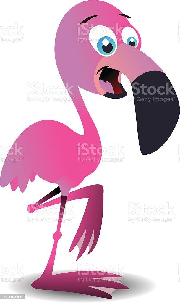 Flamingo royalty-free flamingo stock vector art & more images of animal