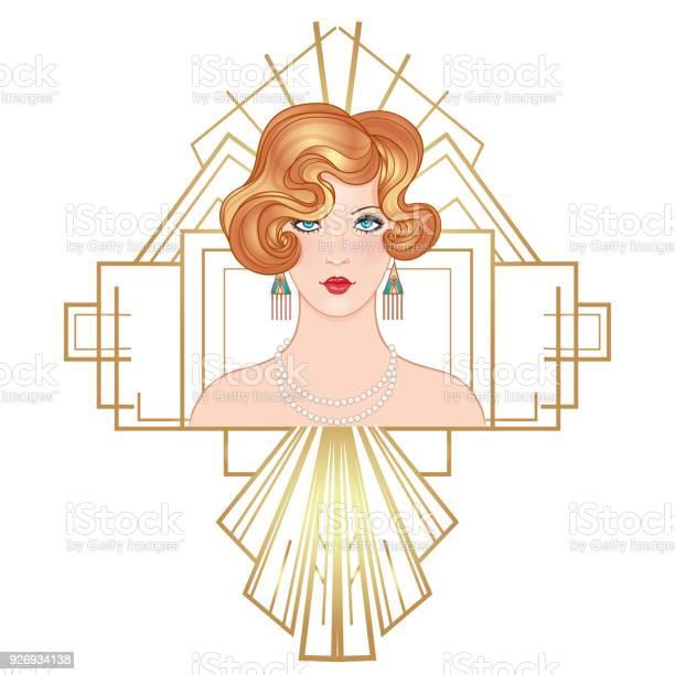 Flapper 20s epoque beautiful girl in art deco style vector id926934138?b=1&k=6&m=926934138&s=612x612&h=txtlhxfqdjmcpzez2jd1wmsn6mn ztmdo6dgduwr vi=