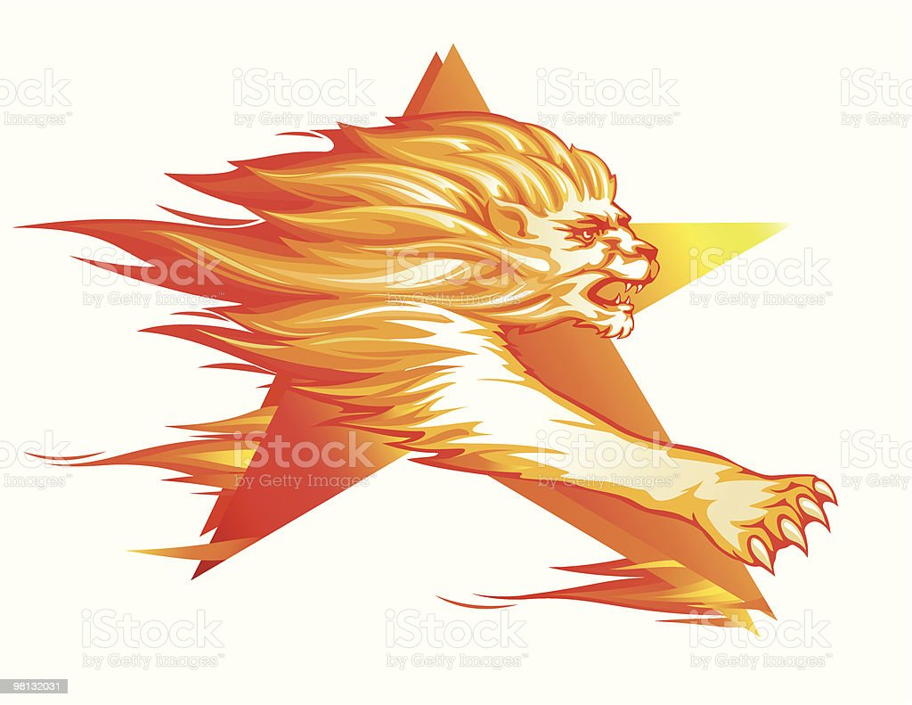 Flaring lion royalty-free flaring lion stock vector art & more images of africa