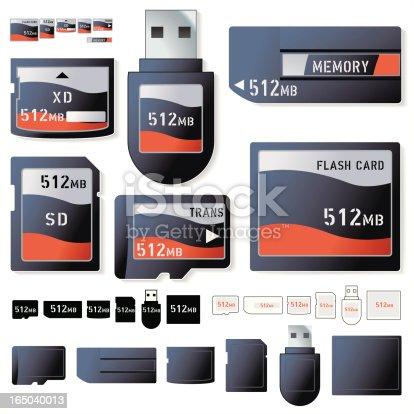 istock Flash Card 512Mb 165040013