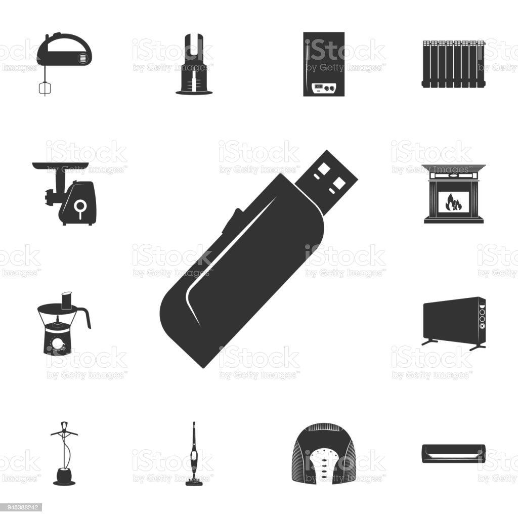 Ilustración de Icono De La Tarjeta De Memoria Flash Conjunto ...