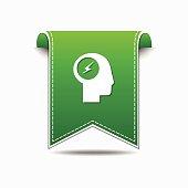 Flash Green Vector Icon Design