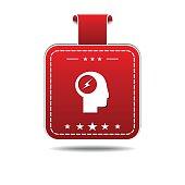 Flash Red Vector Icon Design