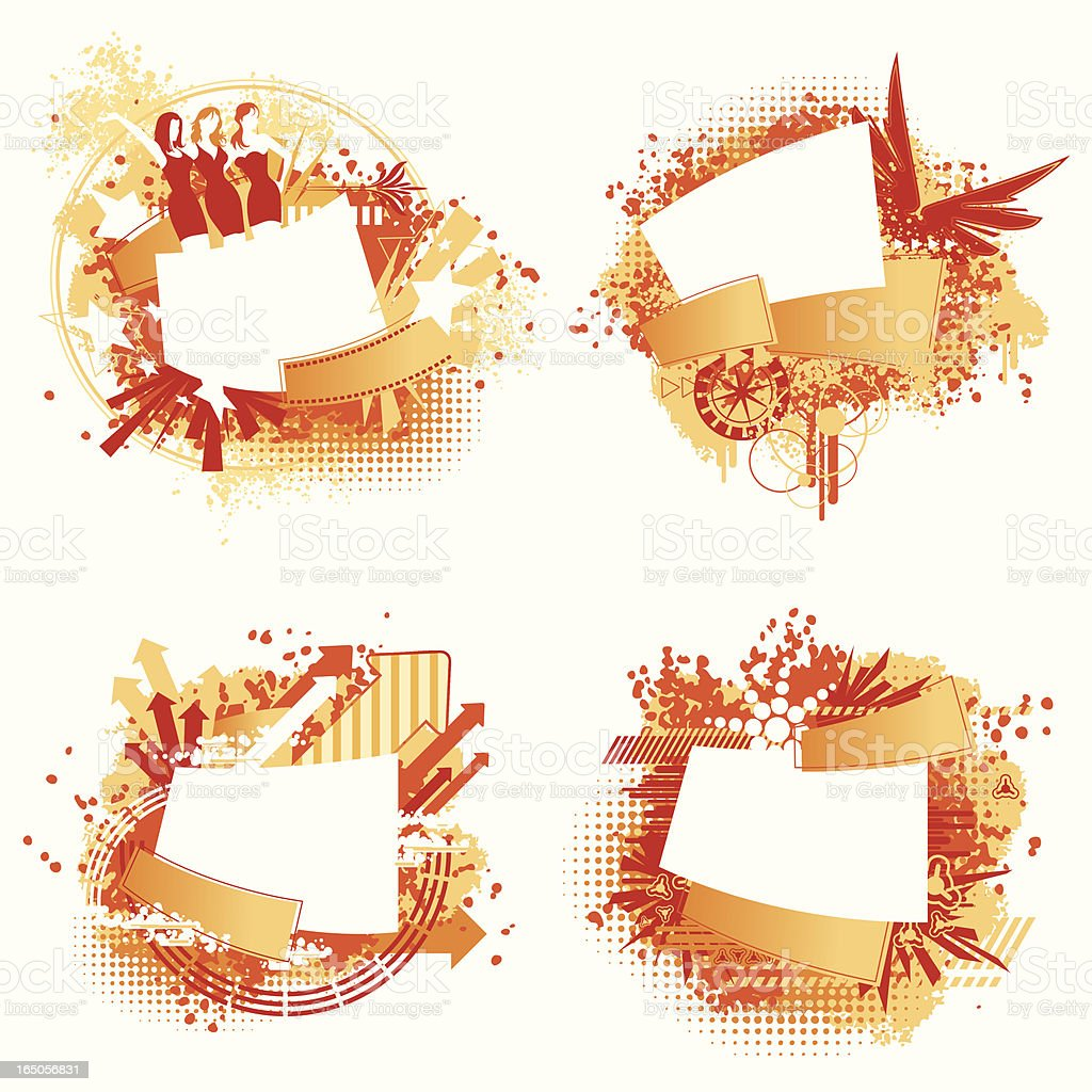 Flash Text Design Element Series royalty-free flash text design element series stock vector art & more images of abstract
