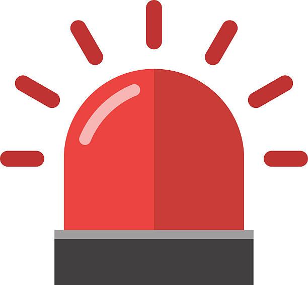 Flasher alarm vector illustration. vector art illustration