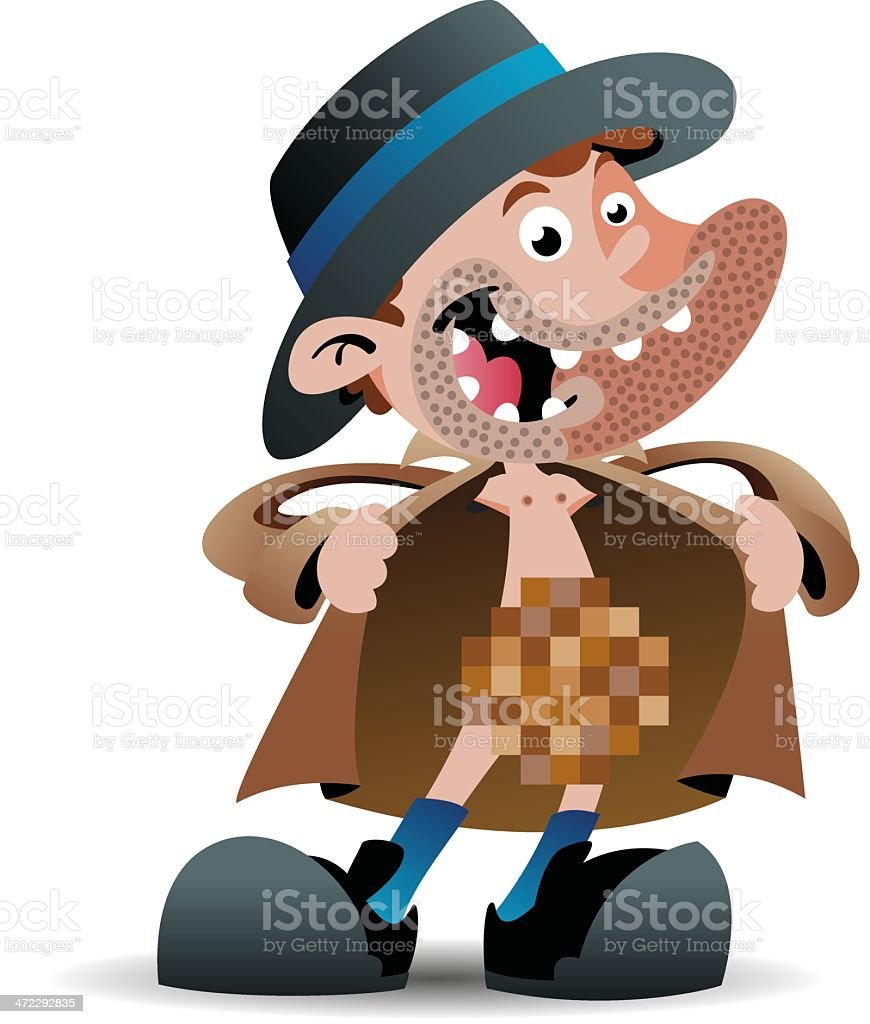Flasher royalty-free stock vector art